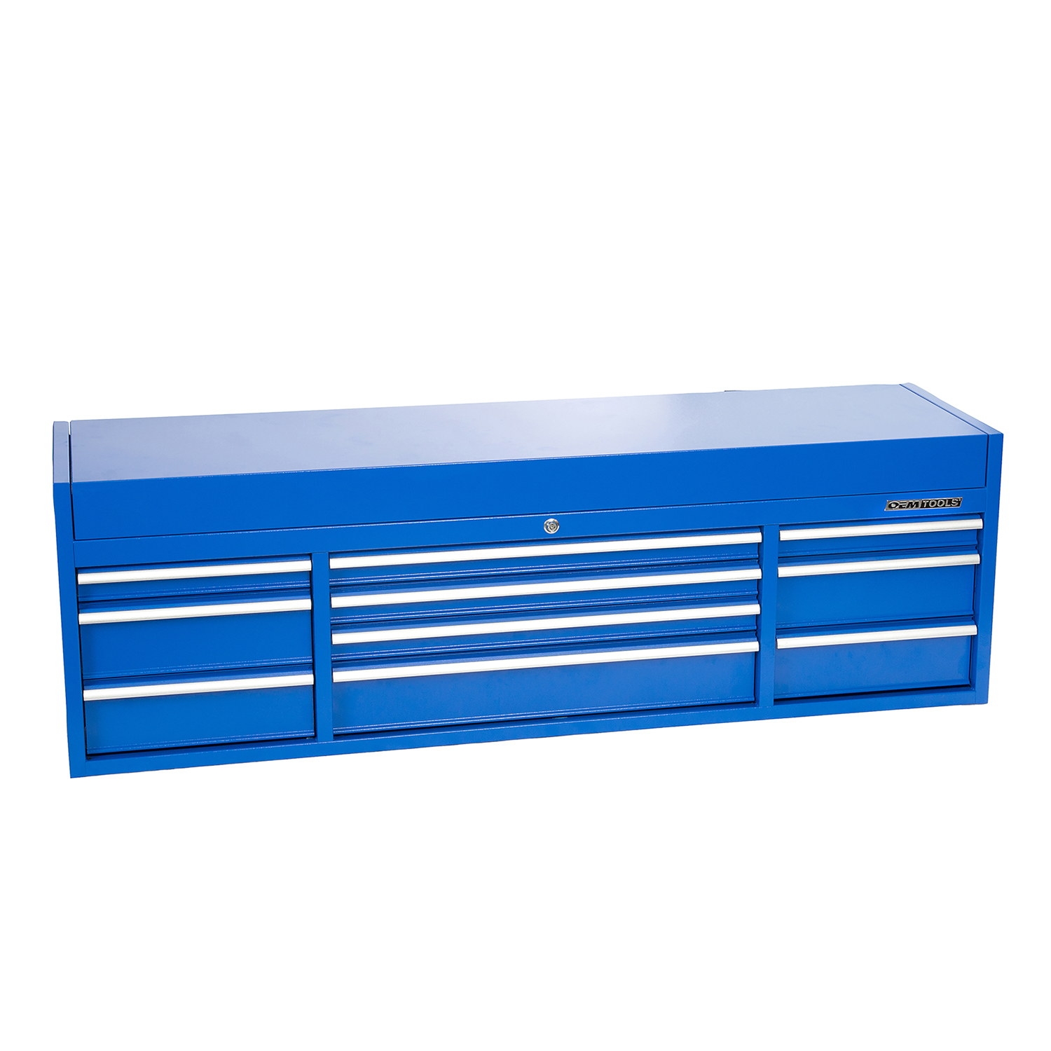 OEMTOOLS 24627 72 Inch 10-Drawer Top Chest- Blue